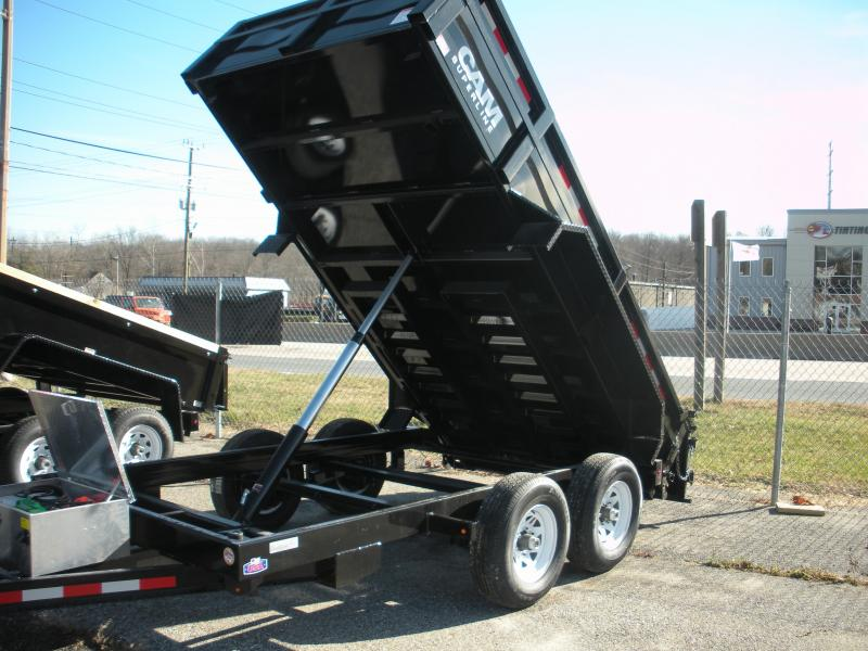 2021 Cam Superline 5CAM 6' X 12' 12K Standard Duty Low Profile Dump Trailer with Ramps