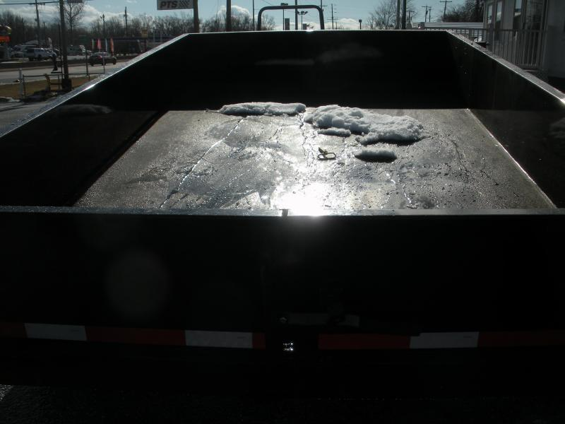 "IN STOCK *2021 Quality Steel and Aluminum 83"" X 12' 12K *Dual Rams*Power Up & Down*Dump Trailer"