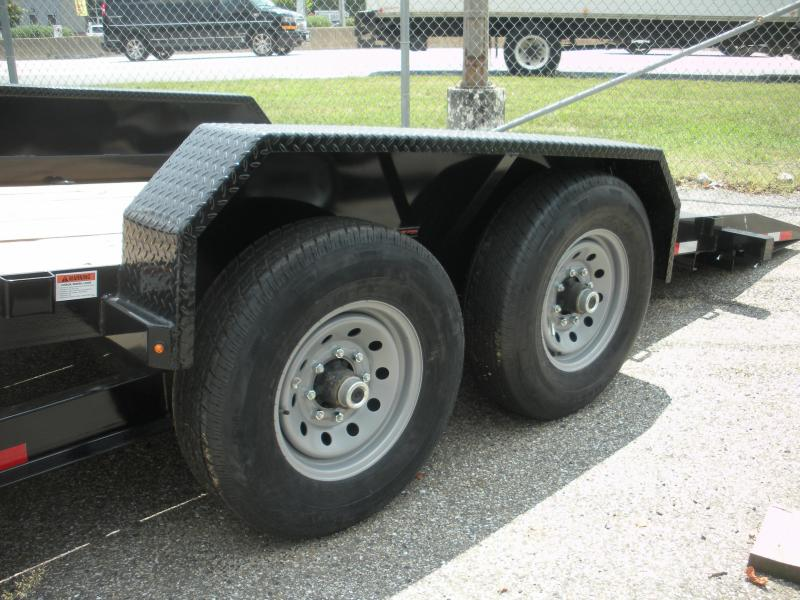 "2021 Cam Superline 81"" X 18' Full Deck Tilt Trailer Equipment Trailer"