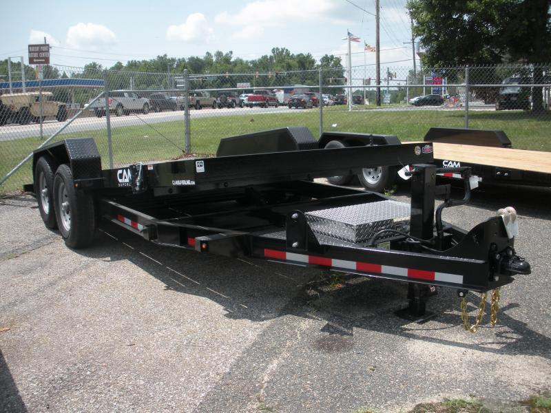 "2020 Cam Superline 81"" X 18' Full Deck Tilt Trailer Equipment Trailer"