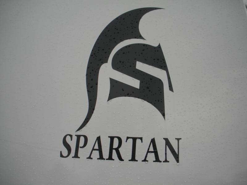 "2020 Spartan 7' X 16' .030 Screwless White* 6'6"" Height *2""X8"" Treated Lumber Floor * 2 Shelves in V-Nose*12"" Wall Kick Plate*HD Ramp *60"" Triple Tube Tongue"