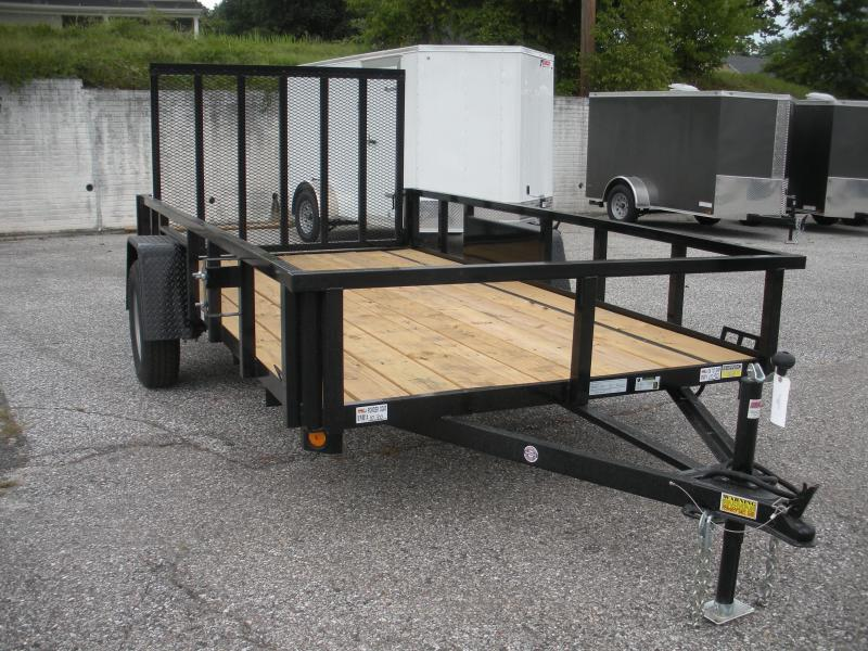 "2020 Quality Steel and Aluminum 74"" X 10' 3K Tube Steel Utility Trailer"