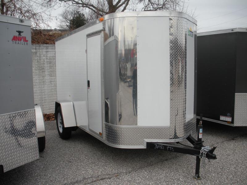2020 Arising 5' X 10' Enclosed Cargo Trailer