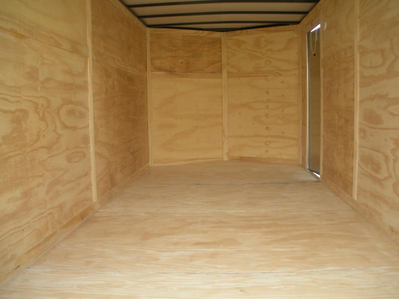 """In Stock 6'9""""Height*2021 MCTL 7' X 16' Enclosed Cargo Trailer"""