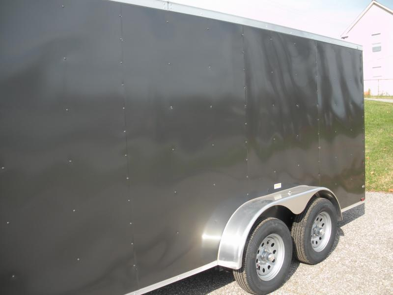 *Assorted Colors*7' Height*2021 MCTL 7' X 16' Enclosed Cargo Trailer