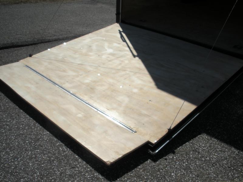 7' Height-SEMI-SCREWLESS*WHITE*2021 8.5' X 24' 10K Car / Racing Trailer