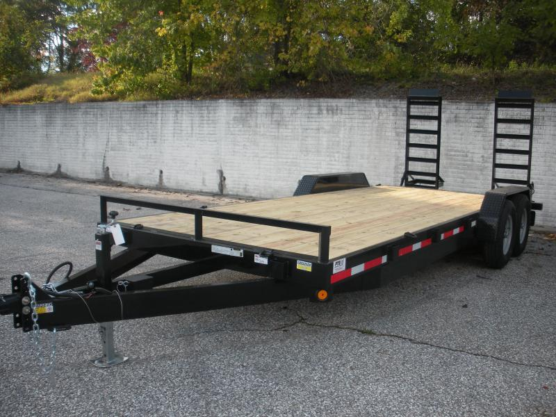 "IN STOCK NOW *2021 Quality Steel and Aluminum 83"" X 20' 14K Equipment Trailer"