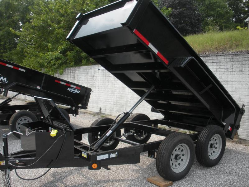 IN STOCK *2021 Quality Steel and Aluminum 5' X 10' 7K Dump Trailer