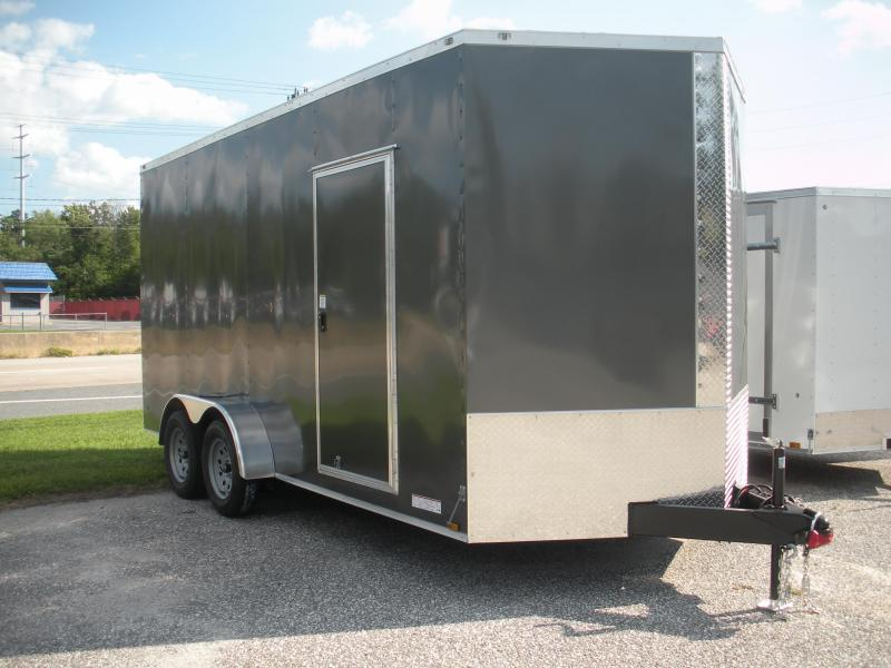 2021 Anvil 7' X 16' w/ 7' Interior Enclosed Cargo Trailer