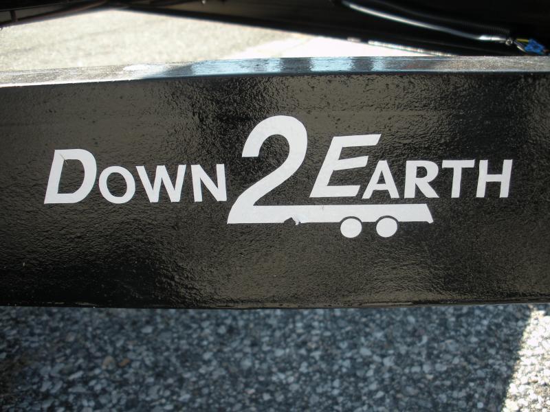 2020 Down 2 Earth Trailers 76X14 5K Single Axle Utility Trailer