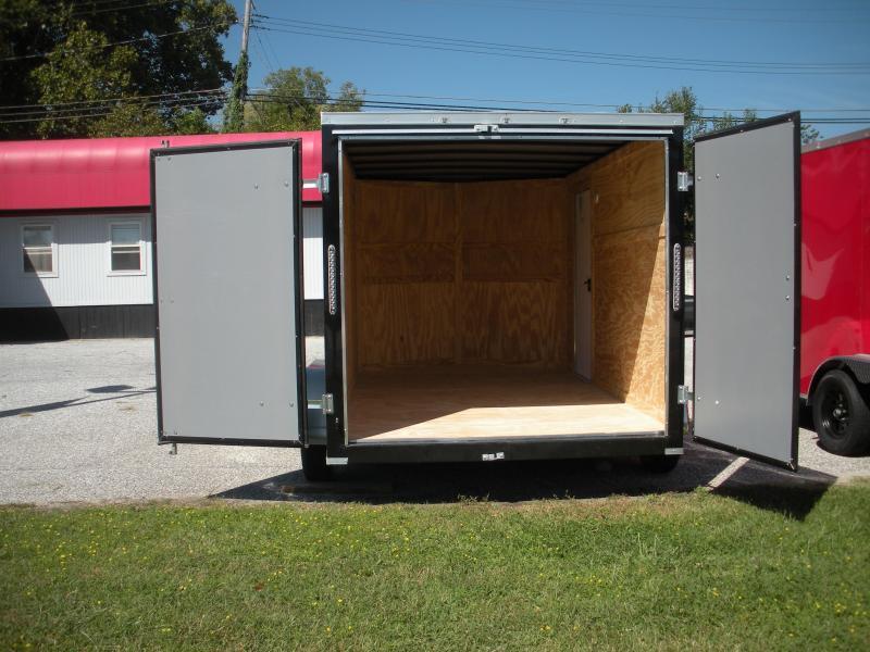 2021 MCTL 7' X 12' Tandem Axle*Barn Doors*Enclosed Cargo Trailer