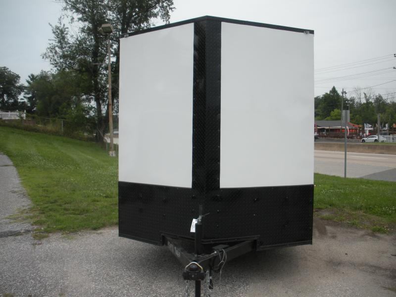In Stock*Black Out Pkg.*Semi-Screwless*7' Height*2021 MCTL 7' X 16' Enclosed Cargo Trailer