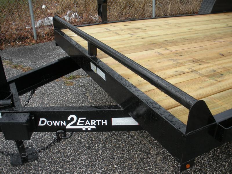 "2020 Down 2 Earth Trailers 82"" X 18' 10K Equipment Trailer"