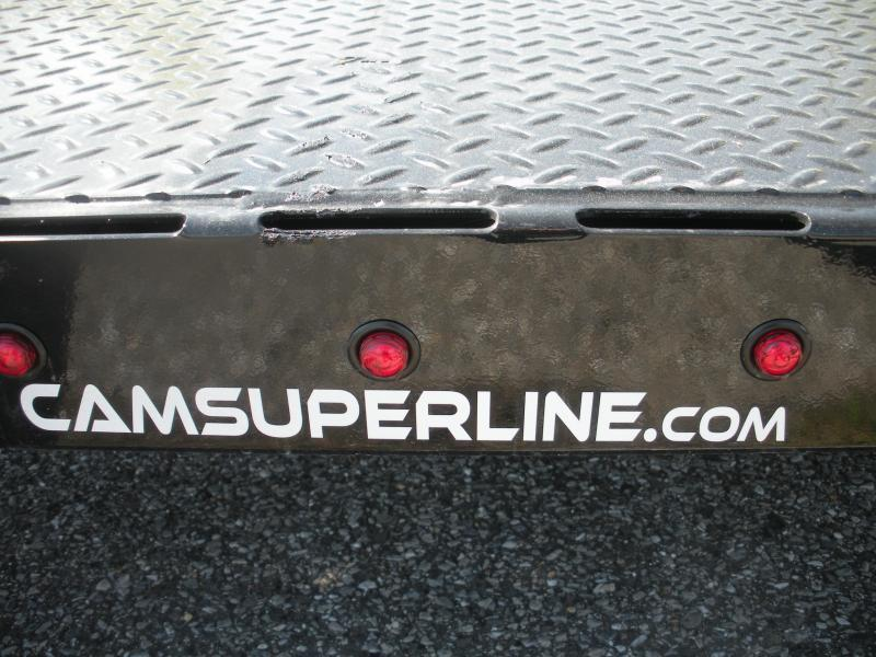"2020 Cam Superline 82"" X 18' 10K Open Car / Racing Trailer"