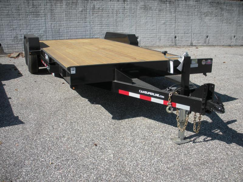 "2021 Cam Superline 82"" X 18' 10K Open Car / Racing Trailer"