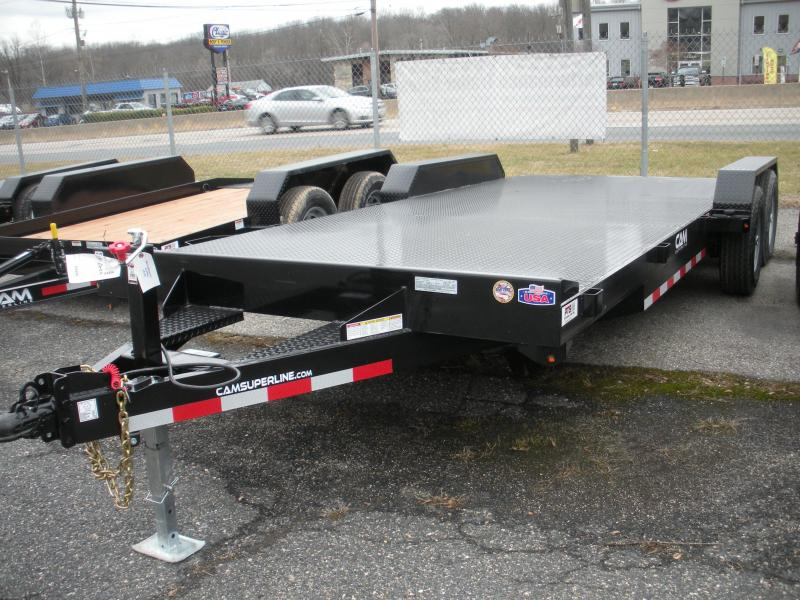 "2020 Cam Superline 82"" X 20' 10K Steel Deck  Open Car / Racing Trailer"