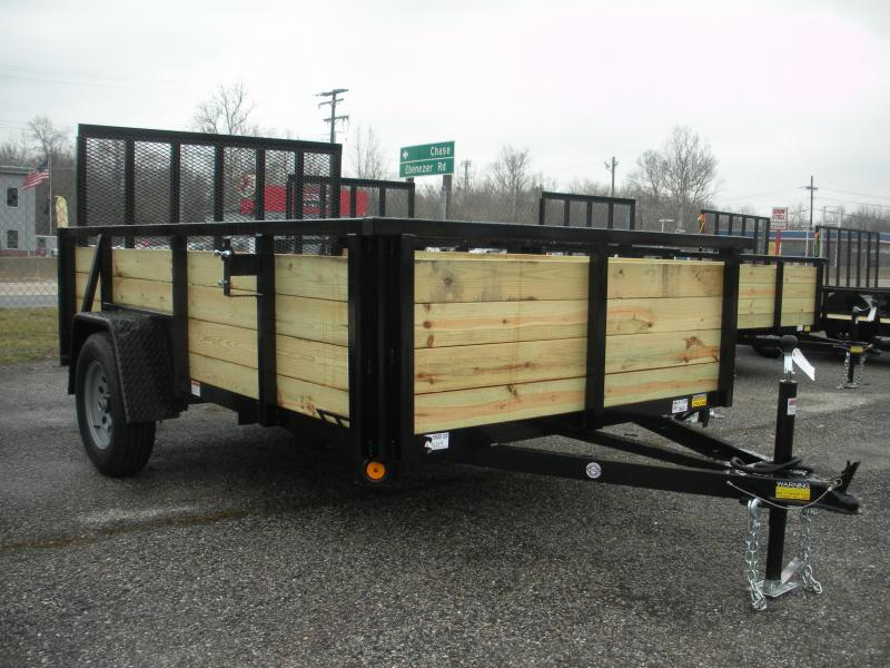 """2021 Quality Steel and Aluminum 74"""" X 10' Utility Trailer"""