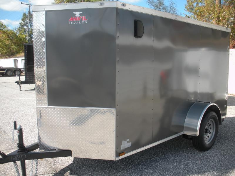 "2020 Anvil 5' X 10' Single Axle 5'6"" Interior Height Enclosed Cargo Trailer"