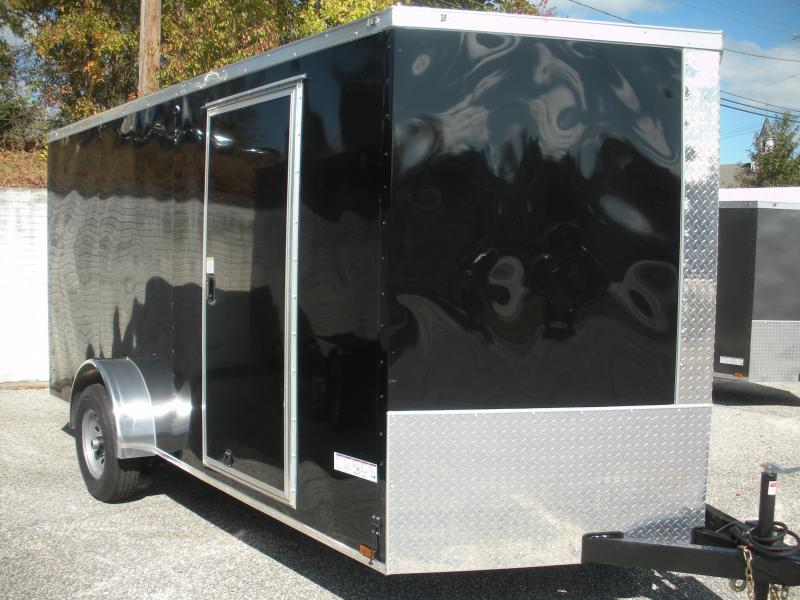 2021 Anvil 7' X 14' 5K Single Axle Enclosed Cargo Trailer