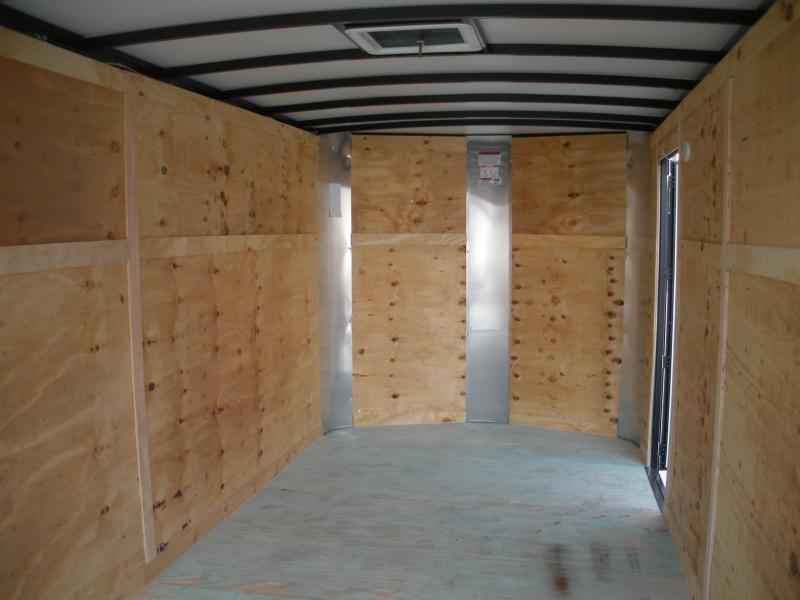 2021 Arising 7' X 16' Blue & Black Trim Pkg. Enclosed Cargo Trailer