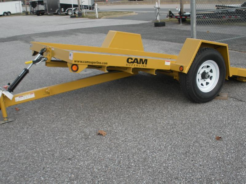 Due in Summer of 2021 Cam Superline 6' X 12' 7K Single Axle Tilt Equipment Trailer
