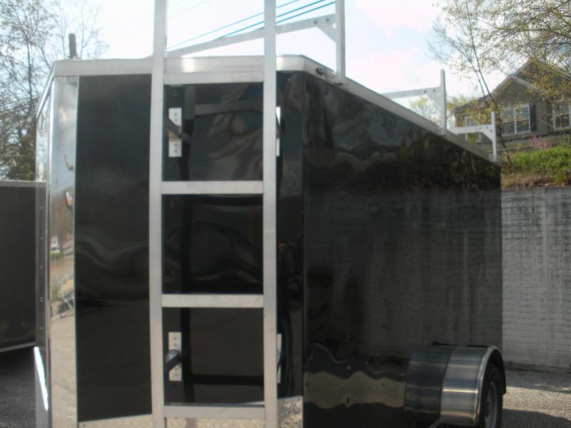 *Hot Deal* 2020 Spartan 6' X 12' 3K *3 Ladder Racks* Aluminum Ladder* 4 Floor D Rings * Enclosed Cargo Trailer