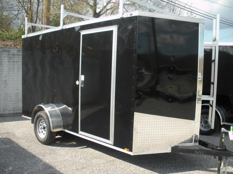 *Hot Deal* 2020 Spartan 6' X 12' 3K *3 Ladder Racks* Aluminum Ladder* 4 Floor D Rings * Enclosed Cargo Trailer