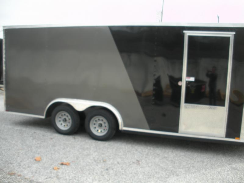 "2021 Arising 8.5' X 18' X 6'6"" Height 2 Tone 7K  Enclosed Cargo Trailer"