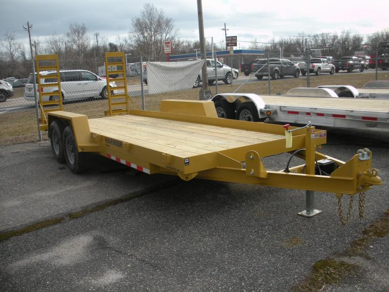 "2020 Cam Superline 76.5' X 18' 10K ""Warrior"" Equipment Trailer"