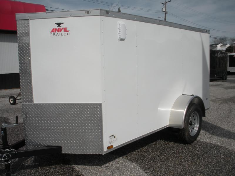 2021 Anvil 5' X 10' Single Axle Enclosed Cargo Trailer