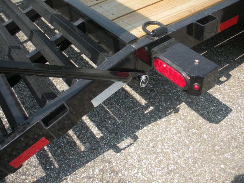 "2021 Cam Superline 82"" X 18' 10K Channel Frame with Beavertail  Equipment Trailer"