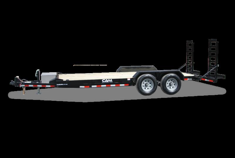 "2020 Cam Superline 82"" X 18' 10K Channel Frame with Beavertail  Equipment Trailer"