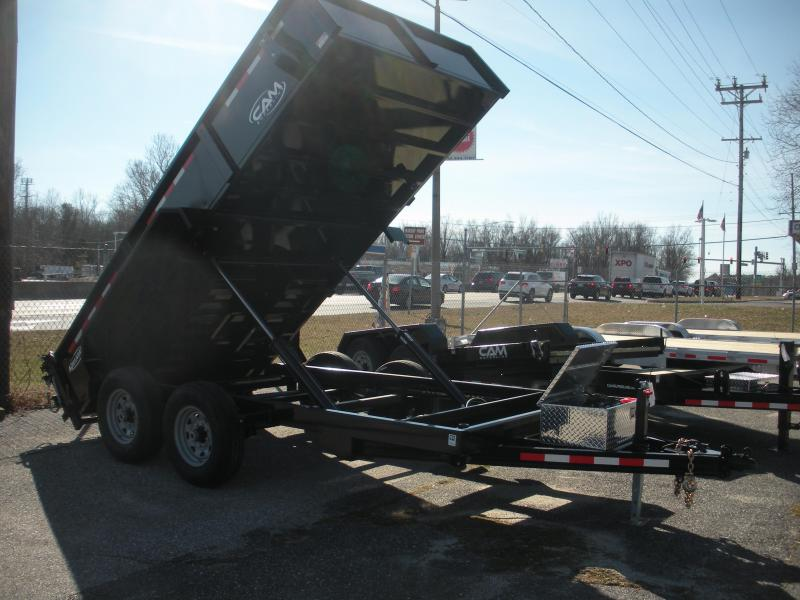 "Due in 8/31 2020 Cam Superline 81 1/2"" X 14' 14 K Heavy Duty Low Profile Dump Trailer"