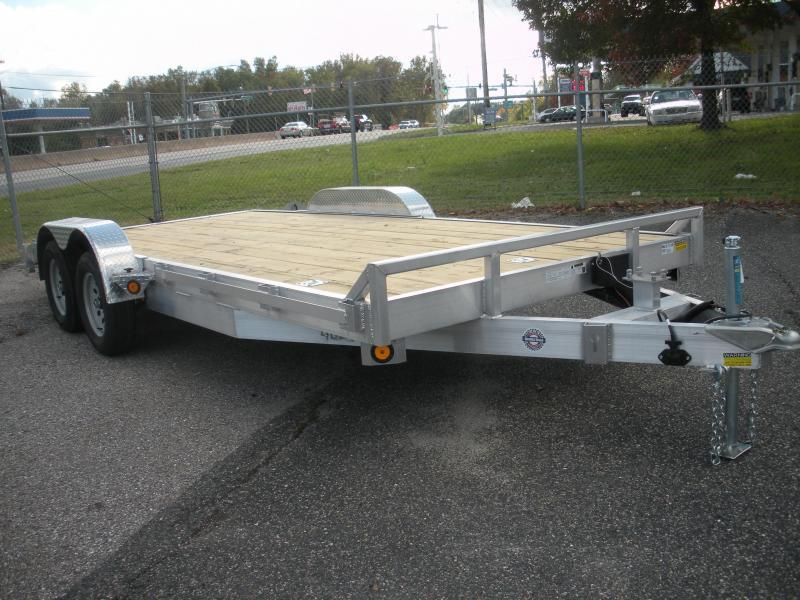 "2021 Quality Steel and Aluminum 83"" X 20' 10K Aluminum Open Car / Racing Trailer"