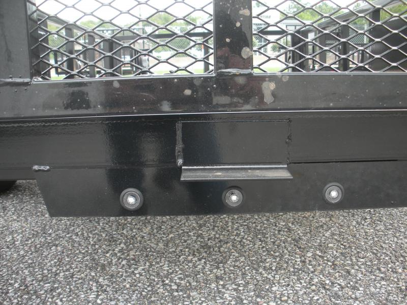 "2021 QSA 74"" X 12' 3K Tube Steel Utility Trailer"