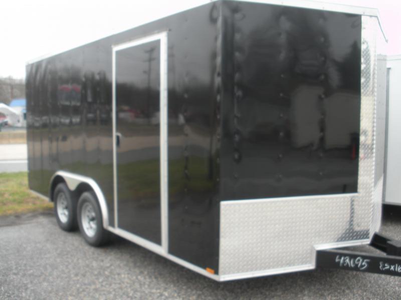 2021 MCTL 8.5' X 16' 7K Car / Racing Trailer