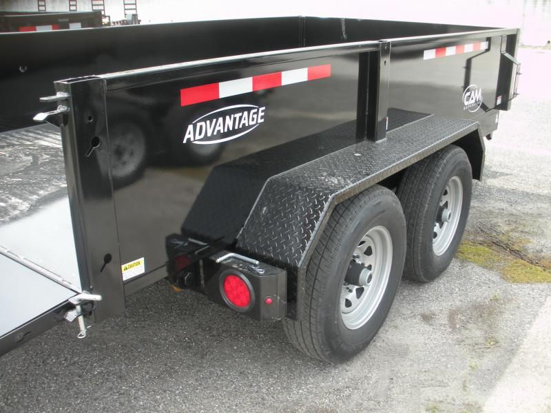 2021 Cam Superline 6' X 12' 10K Low Profile Dump Trailer *Includes 3 Way Gate*