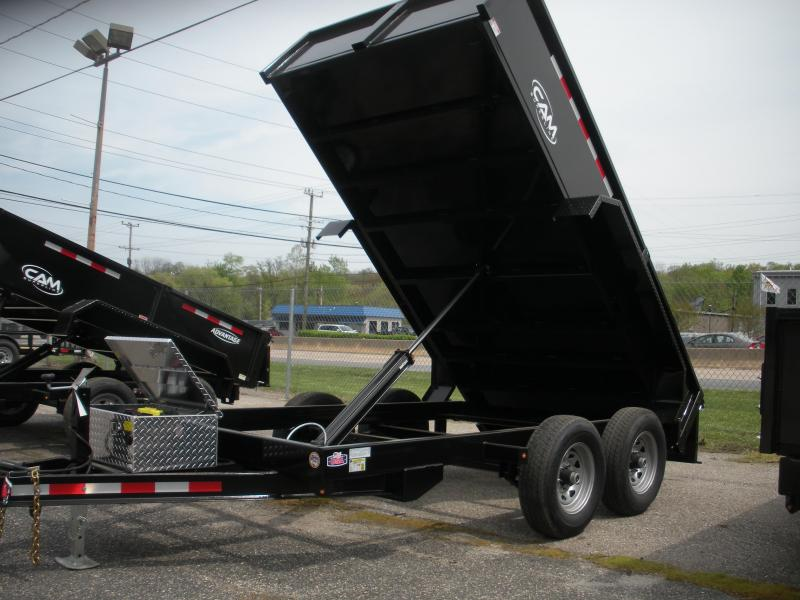 2020 Cam Superline 6' X 12' 10K Low Profile Dump Trailer *Includes 3 Way Gate*