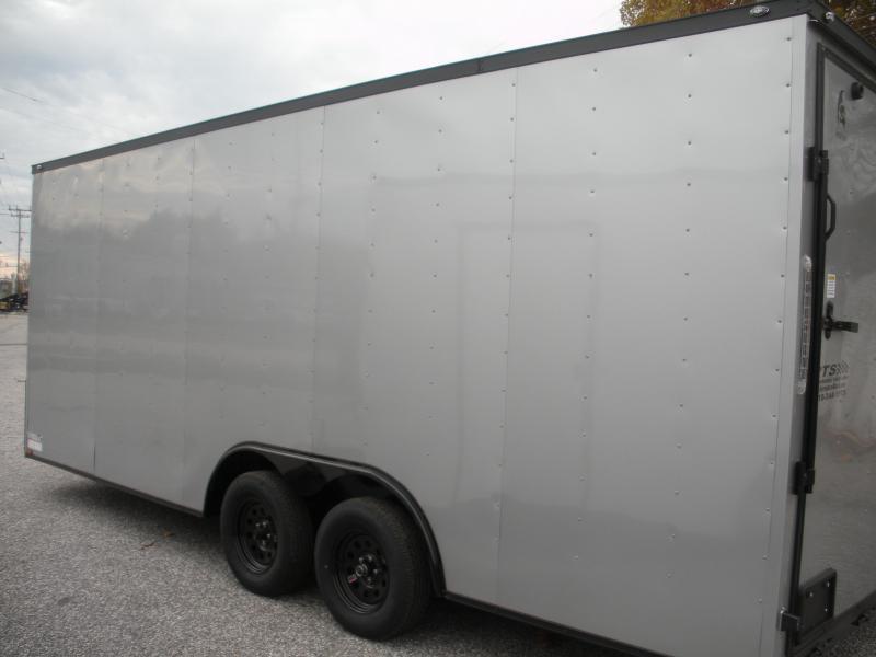 2021 Spartan 8.5' X 20' X 7' Interior Height 7K Silver/ Black Trim Car / Racing Trailer