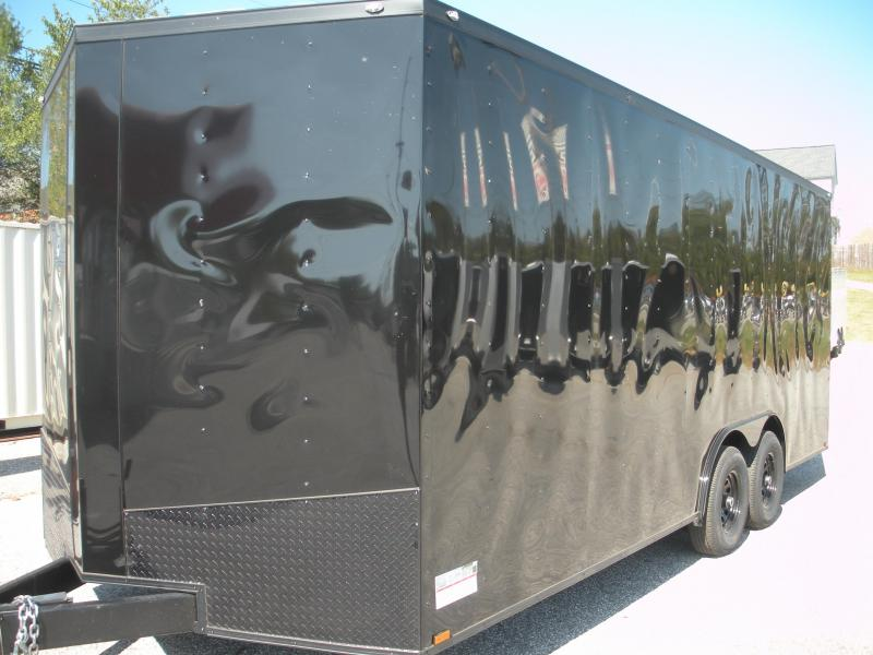 2020 Spartan 8.5' X 20' X 7' Height 10K Black/ Black Trim Car / Racing Trailer