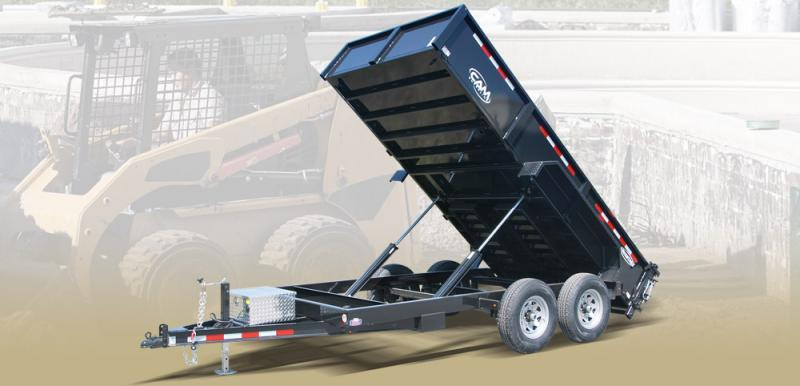 "2020 Cam Superline 81 1/2"" X 14' 14 K Heavy Duty Low Profile Dump Trailer"