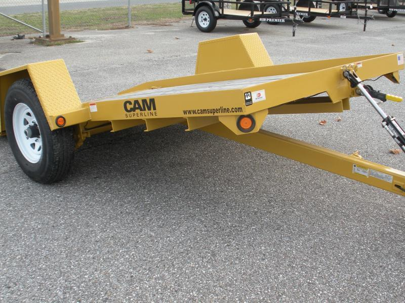 *IN STOCK NOW* 2020 Cam Superline 6' X 12' 7K Single Axle Tilt Equipment Trailer