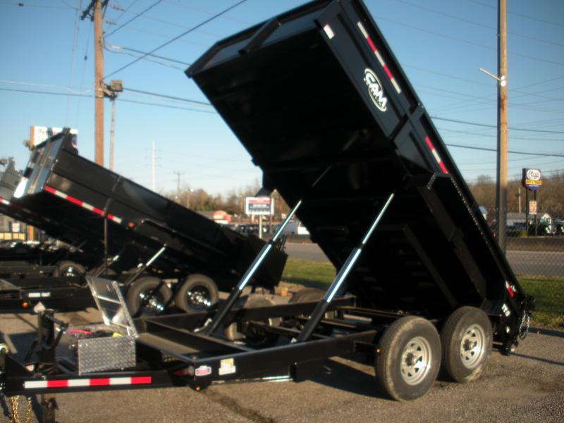 "2021 Cam Superline's ""The Beast"" 16K 82"" X 14' Low Profile Heavy Duty Dump Trailer"