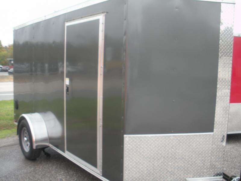 Due In *Assorted Colors*LED Lights*Ramp Door*Side Door*2021 MCTL 6' X 12' Enclosed Cargo Trailer