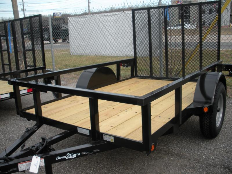 2021 Down 2 Earth Trailers 5X10 Utility Trailer