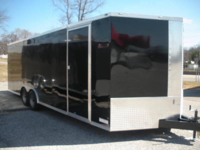 2021 Anvil 8.5' X 24' 7K Black Car / Racing Trailer