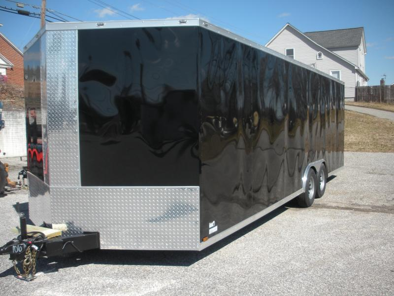 2020 Anvil 8.5' X 24' 7K Black *Sold Out* More Due Approx. Late October Car / Racing Trailer