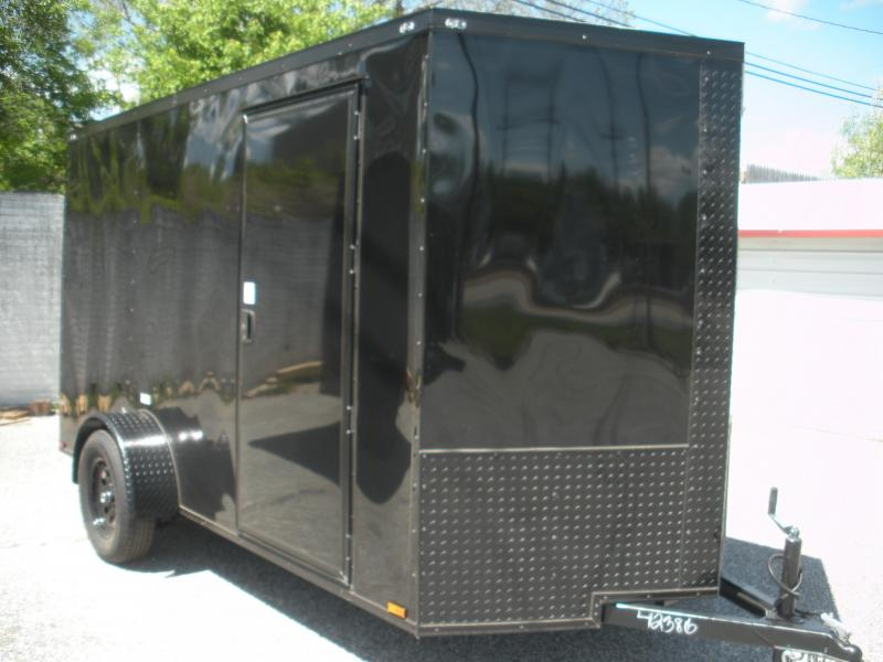 Black Out Package 2021 MCTL 6' X 12' *.030 Exterior Metal*Semi-Screwless*LED Lights*Ramp Door*Side Door*Enclosed Cargo Trailer