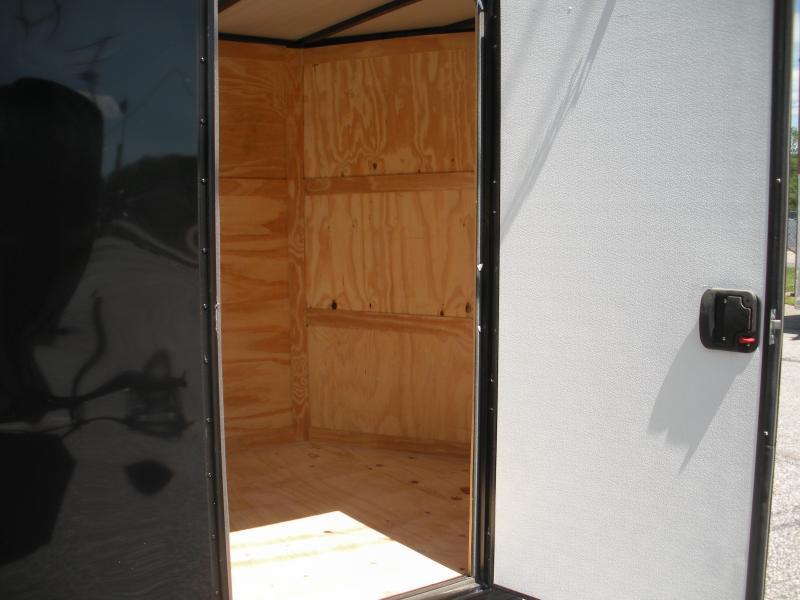 Black Out Package 2021 MCTL 6' X 12' *.030 Exterior Metal*Semi-Screwless*LED Lights*Ramp Door*Side Door*Enclosed Cargo Trailer