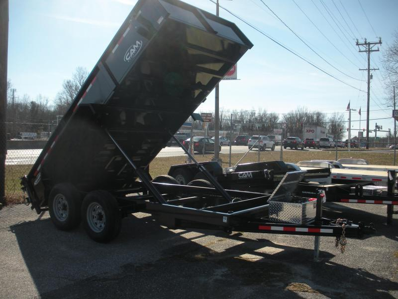 "2021 Cam Superline 81 1/2"" X 12' 12K Heavy Duty Low Profile Dump Trailer"